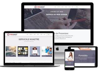 Site de prezentare profesional